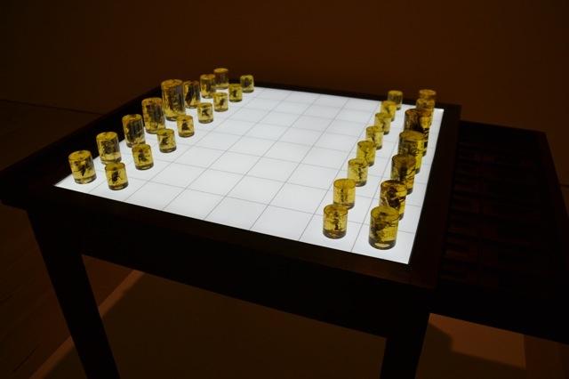 The Art of Chess @  Saatchi Gallery, Londen (GB), foto: Roos van der Lint