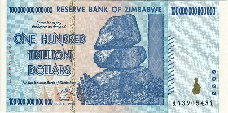 2nd Zimbabwean Dollar