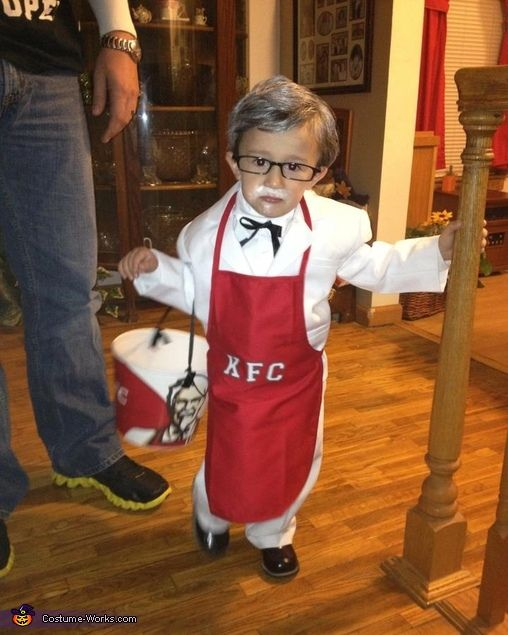 Colonel Sanders KFC Costume- so making this for my boy next halloween!