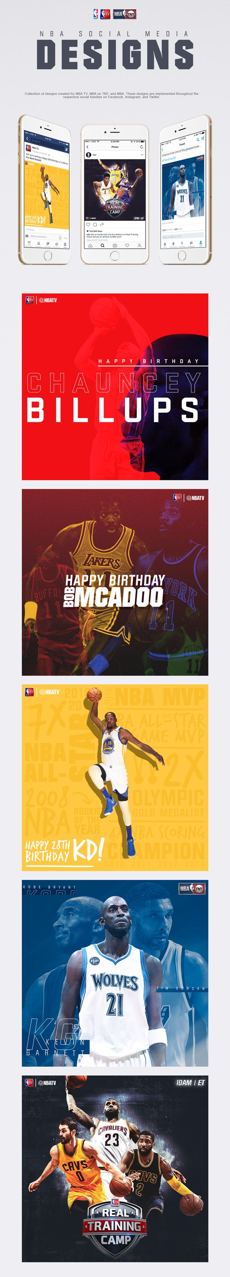 Check out this behance project nba social media graphics pt 1