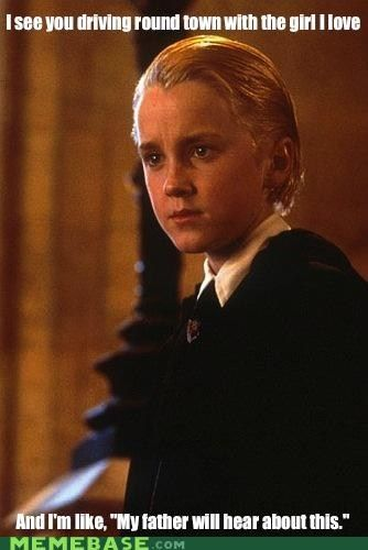 ...I laughed so hard at this. XD I freakin' love Draco, though!