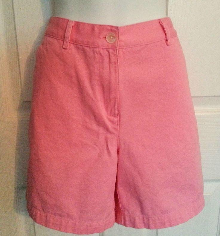 "Ralph Lauren Shorts Size 8 P Pink  30"" Waist Petite 8               #LaurenRalphLauren #BermudaWalking"