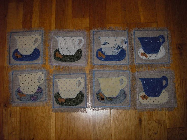 tea cups, mug mats made in London, given as present