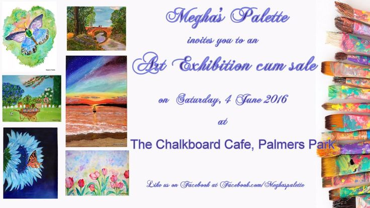 "Megha on Twitter: ""Grab some fab artwork on 4 June @ChalkboardRdg. #acrylicpainting  #watercolor on sale.See you there #rdguk #berks https://t.co/uzssy4mGEx"""