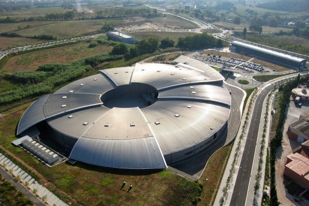 These Are the Most Beautiful Science Labs in the World - ALBA is a synchrotron radiation laboratory in Cerdanyola del Vallès, Catalonia, Spain