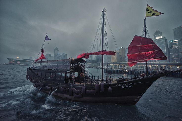 Ship at Victoria Harbor in Hong Kong by Joshua Webb on 500px