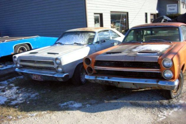 1966 Mercury Cyclones: Cheap Muscle Cars - http://barnfinds.com/1966-mercury-cyclones-cheap-muscle-cars/