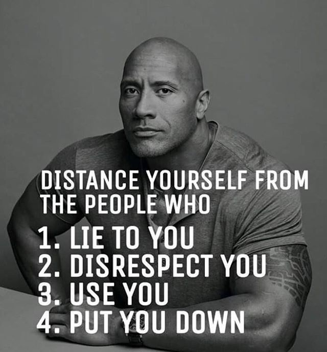 Wisdom from Dwayne Johnson
