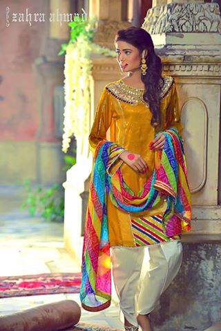 Zahra Ahmad EID UL AZHA Collection Midsummer Wear