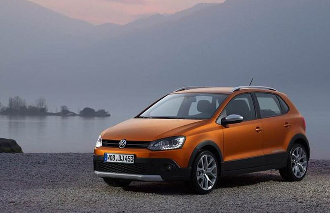 New VW Cross Polo images are revealed.        #Volkswagensurat     #Polo