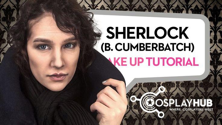 "Sherlock Holmes (Benedict Cumberbatch) Make up tutorial by @Sara Rouge. ""Sherlock"" Tv Series. #cosplay #cosplaymakeup #makeuptutorial #Sherlockmakeup #Sherlock #BBC #BenedictCumberbatch #gender"