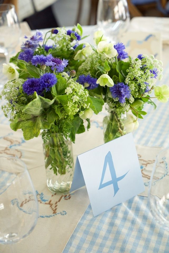 Art de la table - table number
