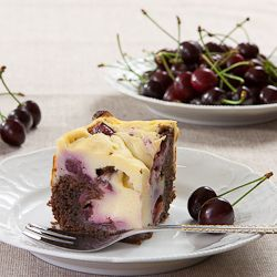 Cake with cherries (in Polish / English by Google)