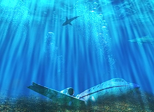 The Bermuda Triangle - from:   10 Weird and Mysterious places to Earth   www.sky-today.com/10-weird-and-mysterious-places-on-earth