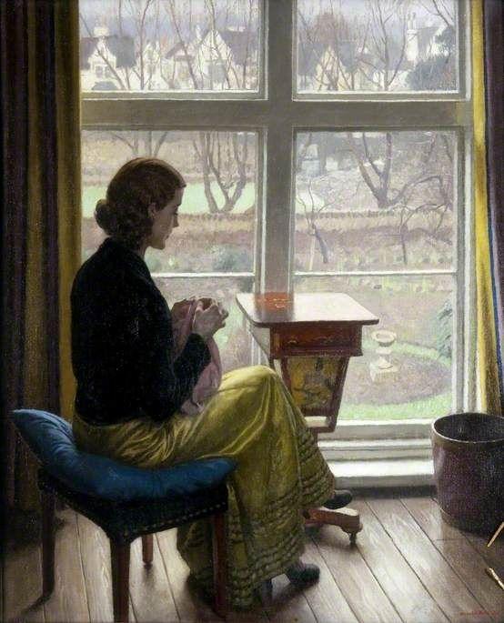 A Window in St John's Wood, by Harold Knight, 1932