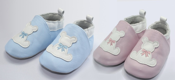 Handcrafted Irish baby leather shoes by Susan Elizabeth exclusive to www.babygifts.ie..Ireland's Baby Gift Specialists!