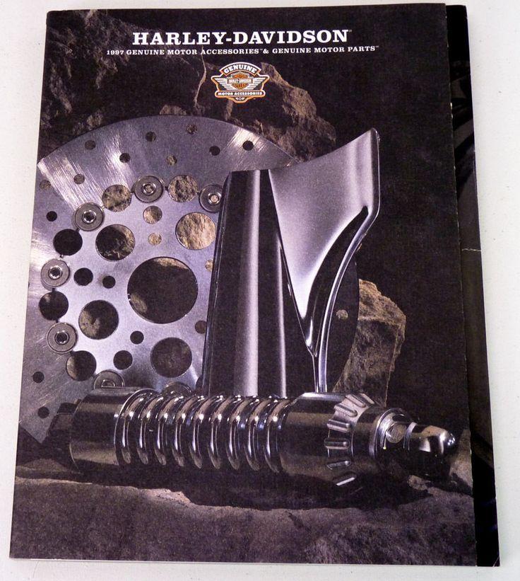 1997 Genuine Harley Davidson Motorcycles Parts & Accessories Catalog Brochure