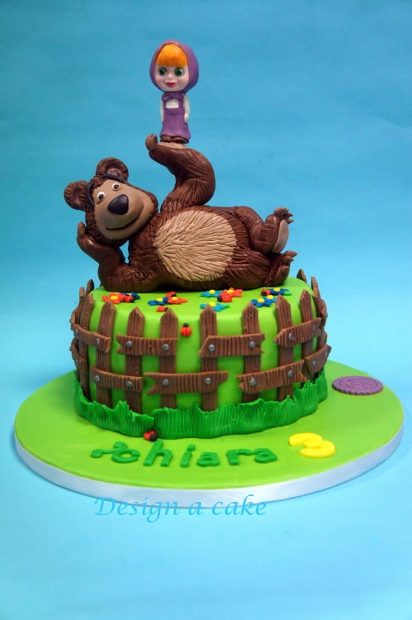 Masha and the bear - Cake by Alessandra