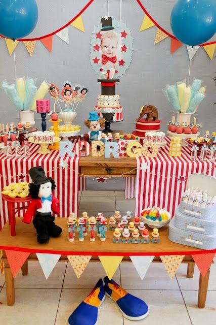 Festa de aniversário: Vamos ao Circo?!!!