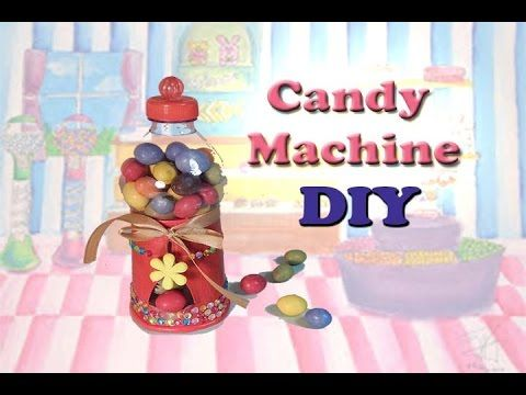 DIY: Functional Candy Machine|Distributore di caramelle funzionante - YouTube