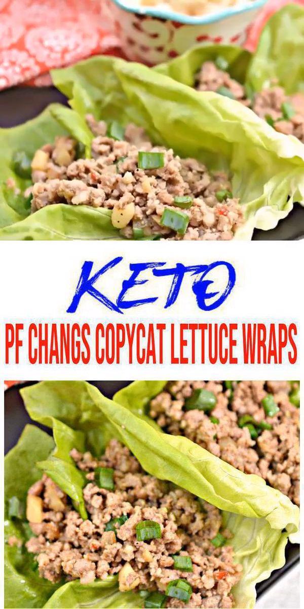BEST Keto Lettuce Wraps ! Low Carb Keto PF Changs Copycat