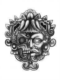 Resultado de imagen para dibujos aztecas para tatuajes