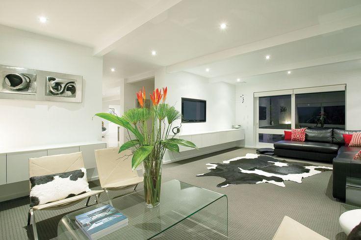 Design & Staging | Danni Brown | Sundowner Court | Lounge | Family | Sculpture | Inset TV