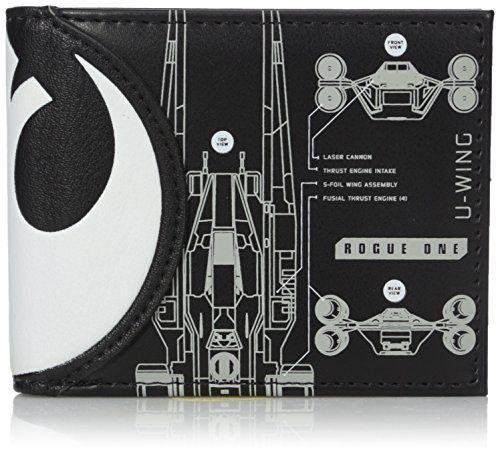 Bioworld Men's Star Wars Rogue One Death Star Bi-fold Wallet //Price: $12.15 & FREE Shipping //     #starwarslife
