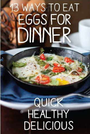 257 best for dinner images on pinterest breakfast baked eggs and 13 ways to enjoy eggs for dinner forumfinder Choice Image