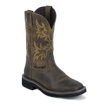 I Kinda Like These Justin Women S Stampede 11 Quot Waterproof