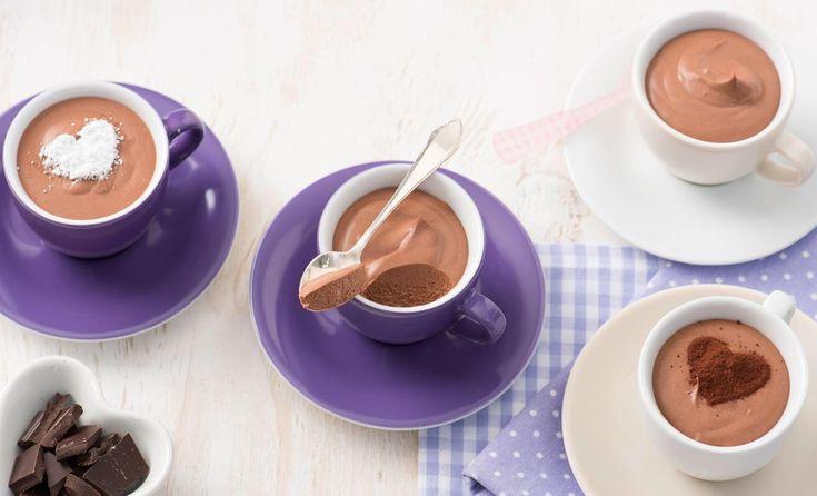 Mousse au Chocolat ohne Ei   Rama Cremefine