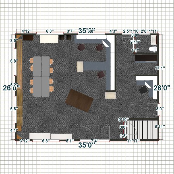 Part 4 sewing room layout sewing pinterest sewing for Sewing room layout