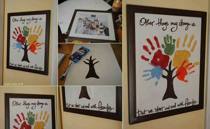 Family craft/picture idea