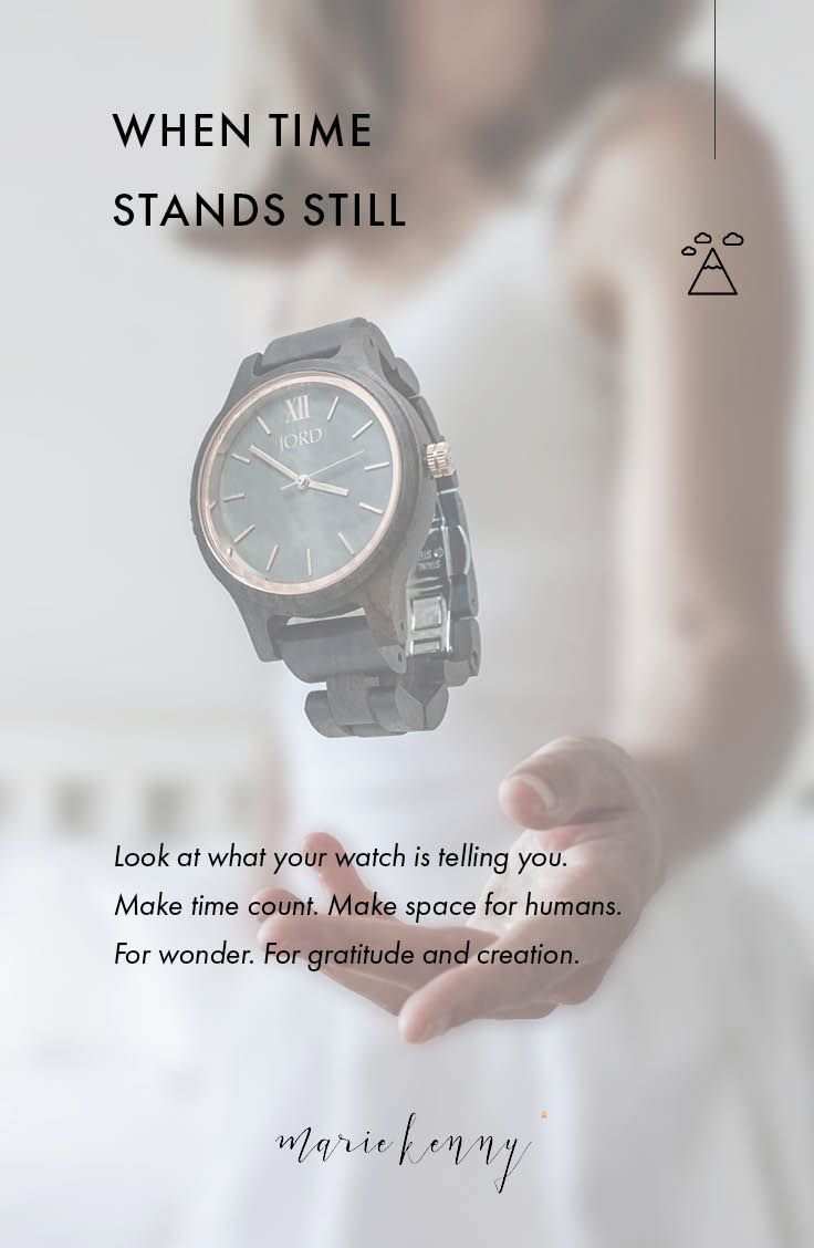 When last did time stand still for you? Look at what your watch is telling you. Make time count. Make space for humans. For wonder. For gratitude and creation. (Featured wooden watch: Jord Frankie 35)