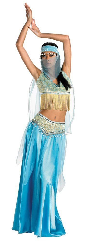 Womens Sexy Desert Belly Dancer Costume Belly Dance Costumes - Mr. Costumes