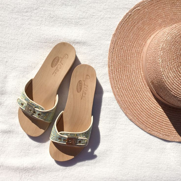 dreaming of summer // the one and only Original Sandal gets a fresh, new.  Wooden SandalsResort StyleDr Scholls ...