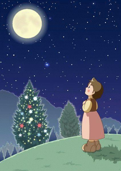 Christmas Special animated Heidi wallpaper  http://heidicartoon.blogspot.in