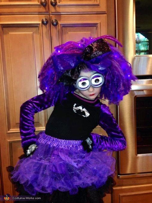 Evil Minion - Girly DIY Halloween Costume
