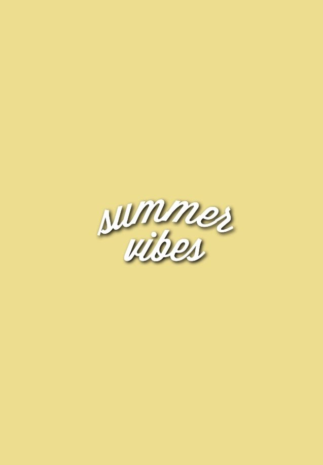 Yellow Summer Aesthetic Aesthetic Colors Summer Aesthetic