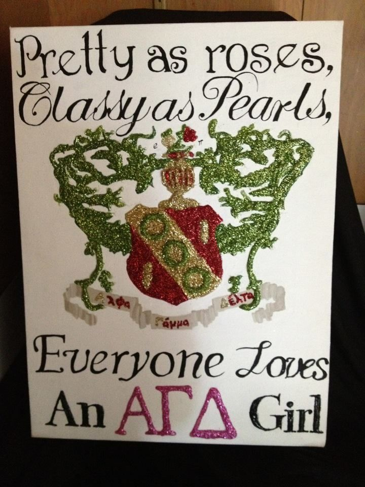 Roses, Pearls and AGD Girls!  submitted by: 1904