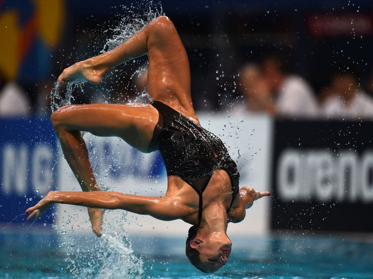 Virginie Dedieu - natation synchronisée