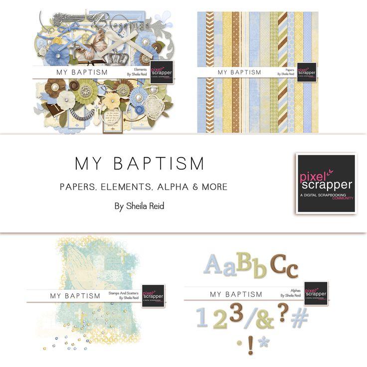 My Baptism Bundle by Sheila Reid
