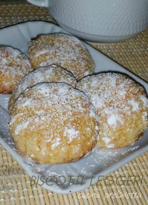 Biscotti leggeri, ricetta, cucina preDiletta