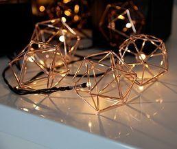 Valosarja, 10 himmeliä, hopea; Crystal Decors | Rellunkulma.fi verkkokauppa