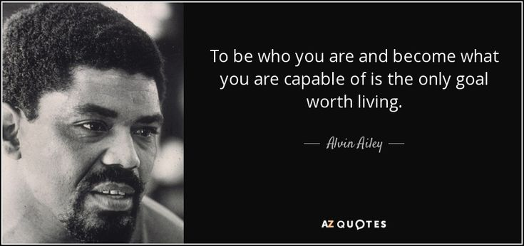 TOP 25 QUOTES BY ALVIN AILEY | A-Z Quotes