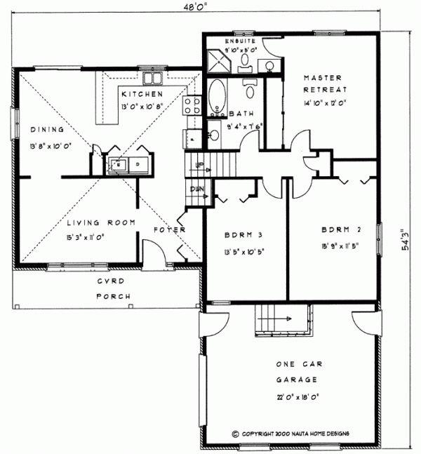4 Bedroom House Plans Open Floor One Story