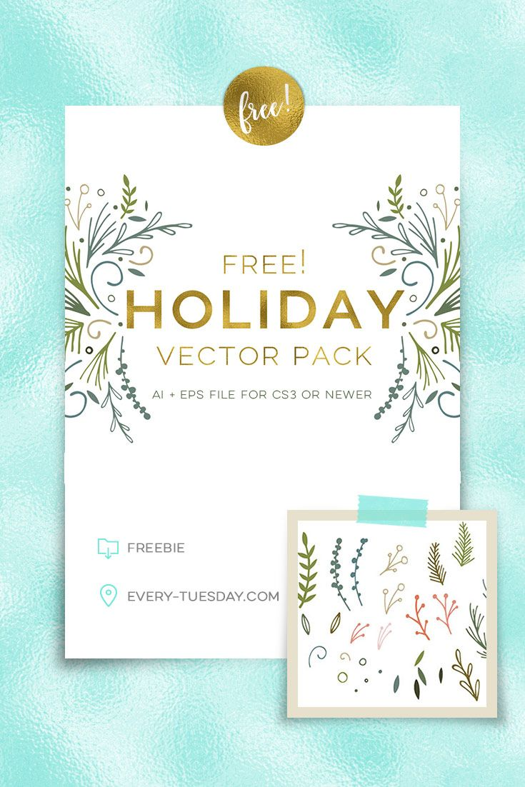 52 best digital freebies images on pinterest bingo games card freebie holiday vector pack magicingreecefo Image collections