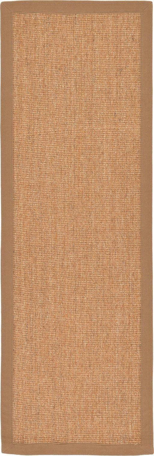 Light Brown 2' x 6' Sisal Runner Rug | Area Rugs | eSaleRugs