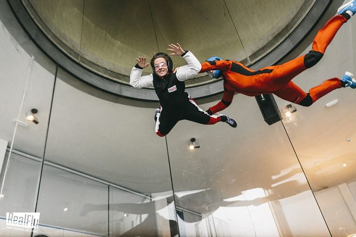 REALFLY Indoor Skydiving, Sion, VS | 45 min. by car from Whitepod #activitiesnearwhitepod #thrills