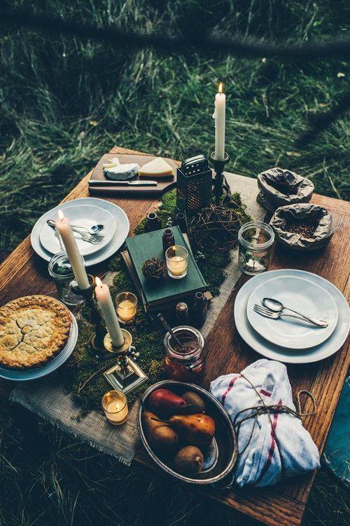 spgent:                 Dinner for two rustic